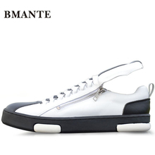 2017 luxury fashion Casual white Footwear real leather street style Superstar designer top trainers gym tide shoes male boty men(China)