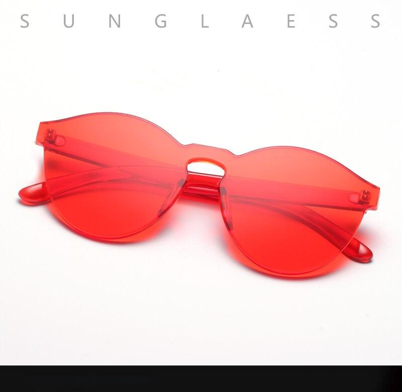 Compre AOOFFIV Cat Eye Sunglasses Mujeres Diseñador De La Marca ... f7f4ecae94be