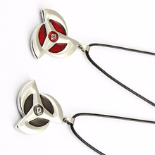 HSIC Naruto Kakashi Sharingan Necklaces Konoha Symbol Choker Necklace Accessories for Women Men Cosplay Gifts Colar HC11624