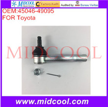 High Quality Auto Parts Front Left or Right Outer Steering Tie Rod End OEM:45046-49095