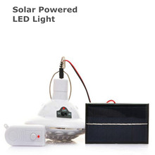 22 LED Solar Powered Super Bright Emergency lights Rechargeable Outdoor Hiking Tent Light Camping Hanging Lamp + Remote Control(China)