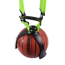New design 2016 hot ball claw suitable basketball/soccer ball/volleyball PVC material green belts easy to carry basketball claw