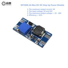 Smart Electronics 5Pcs MT3608 2A Max DC-DC Step Up Power Module Booster Power Module for arduino