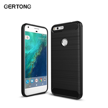 For Google Pixel XL Case Carbon Fiber Mobile Phone Back Cover Cases For Google Pixel X L Armor Coque Protective Bag Cover Shell(China)