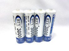 Fast Shipping, Best Rechargeable Battery AA 3000 2 X BTY NI-MH 1.2V Rechargeable aa battery rechargeable batteries AA3000