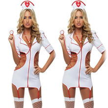 Buy Sexy Nurse Costume Erotic Costumes Sexy Maid Lingerie Sexy Role Play Women Erotic Lingerie Sexy Underwear Games Cosplay Uniform