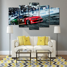 HD Printed Racing Rally Group Painting wall art Canvas Print room decor print poster picture canvas Free shipping/ny-1103