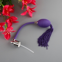 6 Colors Replacement Nice Long Tassel Spray Atomizer Air Nozzle For Refill Perfume Bottles