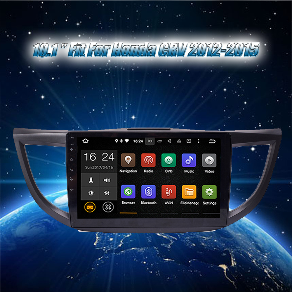 Krando for Honda CRV 2012-2015 Android car radio gps navigation multimedia system