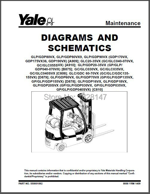 Yale Service Manuals PDF 2014<br><br>Aliexpress