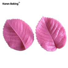 Leaf Press Mold Shaped Silicone Mold Cake Decoration Fondant Cake 3D Food Grade Silicone Mould -C343