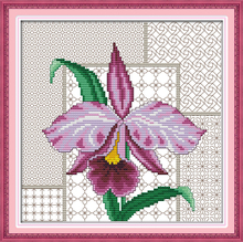 Irises Painting Needlework DIY Cross Stitching innovation items Embroidery kit Cross-Stitching home decoration