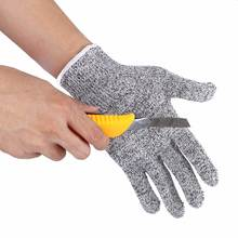 Safurance Resistant Gloves Kitchen Cut Food Protection High-Performance 5-Level Protection Workplace Safety Glove(China)