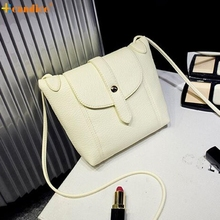 Naivety 2016 New Women Fashion PU Leather CrossBody Shoulder Messenger Handbag JUN30 drop shipping