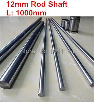 2 x Linear Rail SBR 20-1000mm Support Dia 20mm Lathes Mechanical Shaft