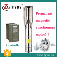 182m high-lift Solar Deep Well Pump, 10/14T/H Big Capacity Solar Pump,Submersible Water Pump For Agriculture & Drink Water