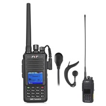 TYT MD-390 GPS VHF 136-174mhz IP67 Waterproof DMR Digital Two Way Radio Walkie Talkie 1000CH 2200mAh with Programming Cable / CD(China)