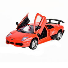 BOHS Alloy Car Door Openable Vehicle Model Acousto-optic Vehicle and Diecast Toys 13CM(China)