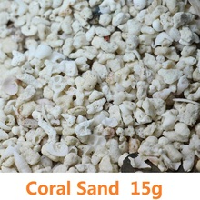 15g Top Natural Coral Sand/Shell sand/Philippines sand Fish Tank Decoration Micro Landscape Decor DIY Sand Table Model Material
