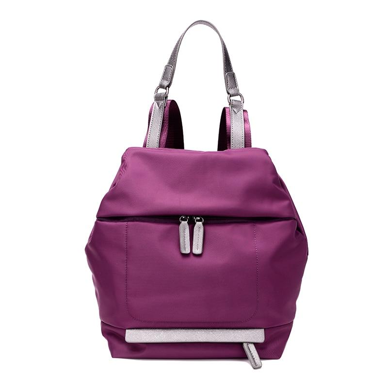 KVKY Women Waterproof Nylon Travel Portfolios Backpack Youth School Bag For Teens Girl Top Flap Cover Rhombus Backpacks<br><br>Aliexpress