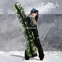Big ski bag snowboard board monoboard snowboard bag boot camouflage mountain skiing protective pouch professional snow equipment