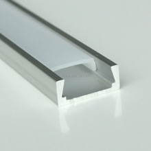 30pcs(60m) a lot,  2m per piece Anodized diffuse/clear cover slim aluminum led channel for led strips light