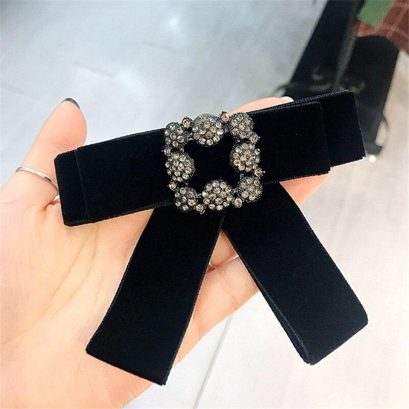 ... Velvet Rhinestone Shirt Pin Neck Bow Tie Bowknot Apparel Accessories  Fashion Jewelry. SIZE  11 CM   8 CM. 8229252636 787041807  8229243742 787041807 ... 53c87b97b688