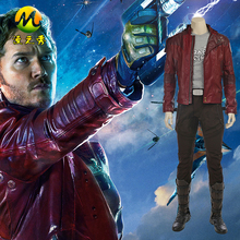 Guardians of The Galaxy 2 Star Lord Men's Red Cosplay Costume Suit Jackets For Halloween Customs Size Can Be Customized