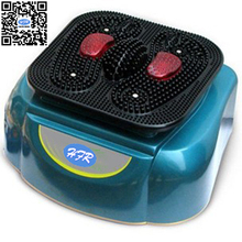 HFR-8805-2 HealthForever Brand High Frequency Spiral Genuine Acupuncture Vibrating Foot Massage Legs Blood Circulation Machine