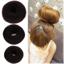 The headdress of the super simple and convenient Lady Girl Magic Blonde Donut Hair Ring Bun Former Shaper Hair Styler Maker Tool