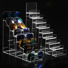 New Clear Plastic Arylic Sun Glasses Holder Wallet Storage Rack Cell Phone Shelf Stand Bathroom Organizer Multi Tiers Layers(China)