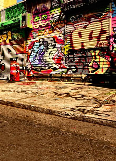 300CM*200CM(about 10ft*6.5ft) backgrounds Foreign painting graffiti wall street chaos photography backdrops photo LK 1324<br><br>Aliexpress