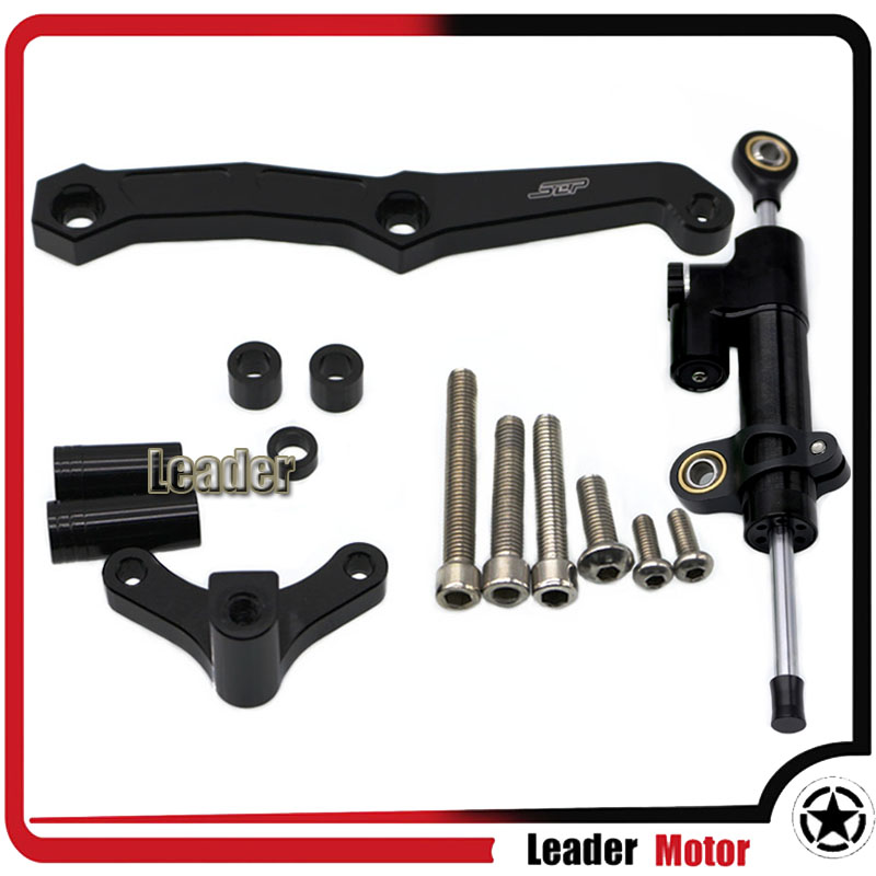 For KAWASAKI Z800 Z 800 2013-2016 Motocrycle Aluminum Street Bike Steering Damper Mounting Kit Stabilizer Adjustable<br>