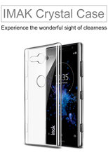 Buy Original iMAK Wear Resistant Transparent Crystal Hard Phone Case Sony XZ2 Compact Case Sony Xperia XZ2 Compact Case for $5.59 in AliExpress store