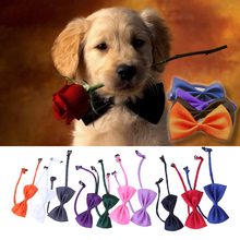 10PCS New Lovely Cute Bow Butterfly Tie Neckties Adjustable Colorful Dog Cat Pet Necktie Neck Collar for wedding parties E#CH