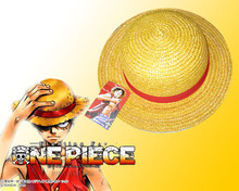 Action Figure One Piece Luffy Cosplay Straw Cap hat 19cm PVC Party Cartoon decoration Doll gift Collectible Model Anime