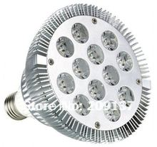 DHL free shipping High power par38 24W 12*2W E27 LED spotlight/ par38 led bulb 14X2W 85-265V(China)
