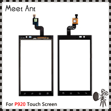 "Buy High 4.3"" LG Optimus 3D P920 Touch Screen Digitizer Sensor Outer Glass Lens Panel Black+Tracking for $5.70 in AliExpress store"