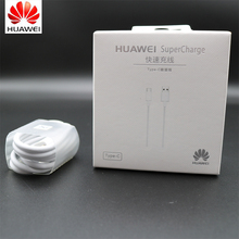 Original Huawei P20 Pro P10 Charger Cable Mate 9 pro 10 Smartphone 5A supercharge Fast Charging USB 3.1 Type C Data Cable