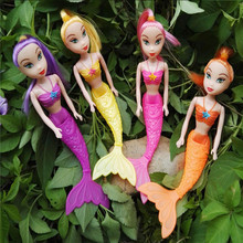 Baby Toy  Fashion Kids Mermaid Princess Dolls Cute Sea maid  Lovely Girls Toys For Birthday Gifts Barbei Anime Classic Toys