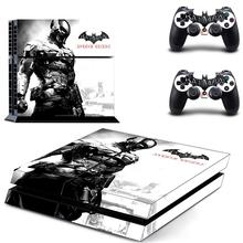 New Batman PS4 Skin Sticker For Sony PlayStation 4 Console And 2 Controller Decal Skins