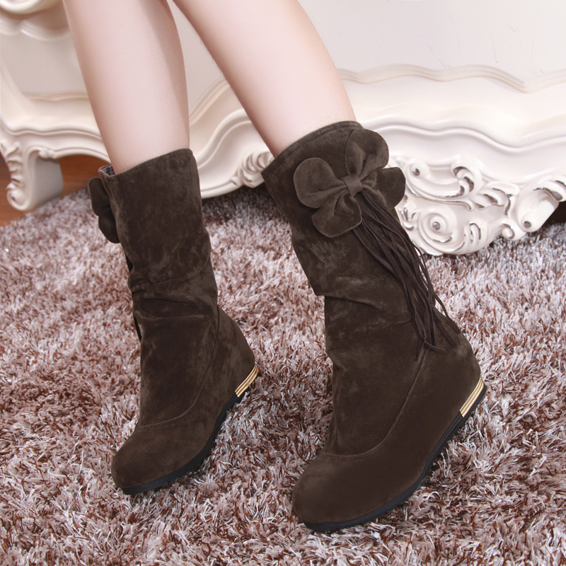 Free shipping 2016 New Shoes Women Boots Designer Ladies Winter outdoor keep Warm Fur Boots Waterproof Womens Snow Boots 659<br><br>Aliexpress
