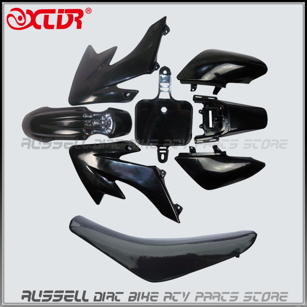 Flat Seat Plastic fenders Mud guard kits For CRF 50 XR 50 SDG SSR 110cc 125cc 140cc 150cc PIT PRO Bike fit Trai Thumpstar<br>