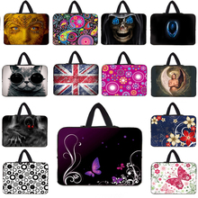 MS Sleeve Hidden Handle Tablet Bags 10 10.1 10.2 9.7 inch Shockproof Neoprene Sleeve Netbook Cases For Ipad Air Samsung Thinkpad