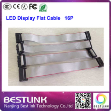 free shipping led flat cable wire for connecting led module with led power cable line outdoor led screen led video wall