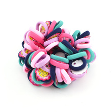 Buy 25 pcs/pack 3cm Colour Basic Rubber Band Children Kids Elastic Hair Band Baby Girls Hair Rope Accessories for $1.09 in AliExpress store