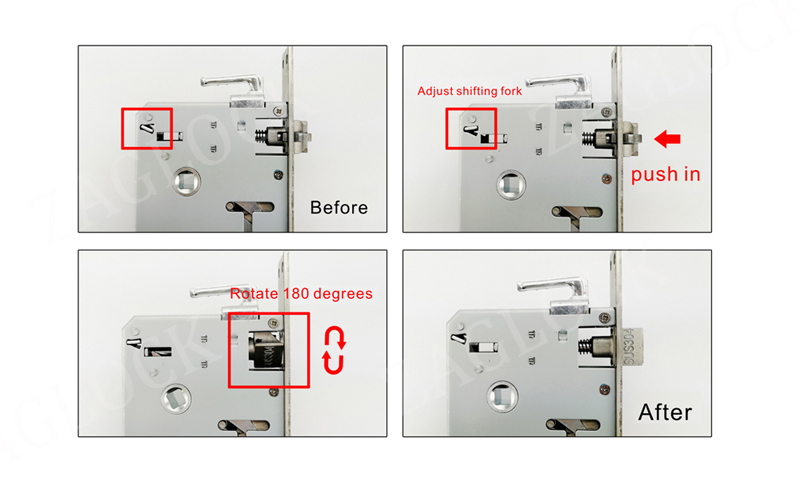 Security Biometric Sensor Fingerprint Door Lock Digital Keyless Combination Passowrd Code Door Lock For Smart Home