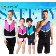 WELLPATH Professional Life Vest For Adult Kids Swim Floating With Reflective Strip Diving Surfing Upstream Kayak Life Jacket C