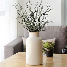 Dried Branches Artificial Fake Foliage Plant Tree Branch Wedding Home Church Office Furniture Home Decoration Accessories 3 Pcs(China)