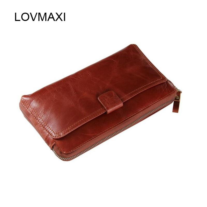 Mens Wallets Clutch purse male bags Genuine leather large wallets leather purse Male card holders 8037<br><br>Aliexpress